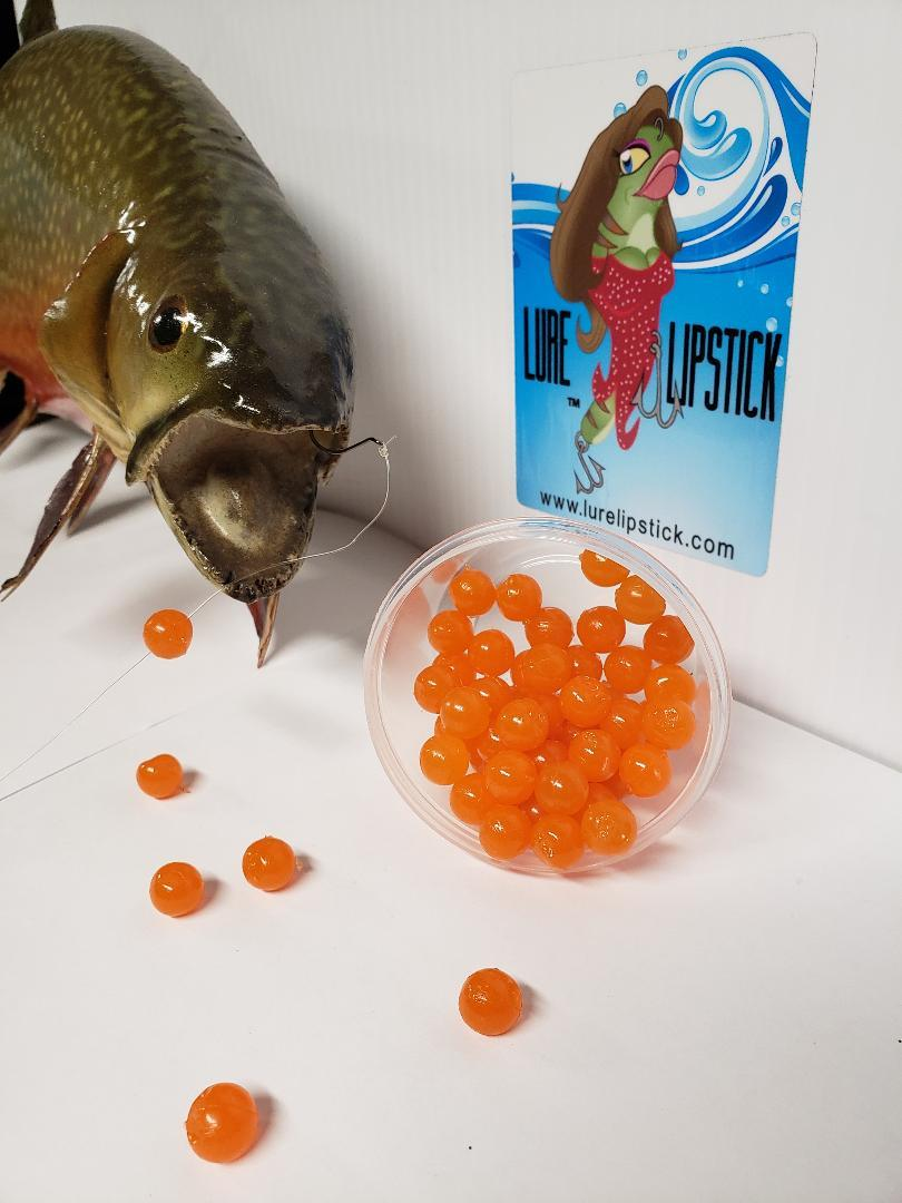 10mm or 8mm Salmon Eggs infused with Anise Oil - 50ct